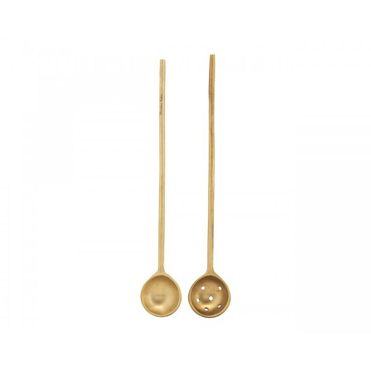Spoons Brass -Set of 2