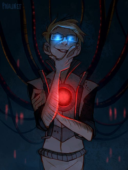 EEE! Evil Wheatley! I've been on such a portal 2 kick.