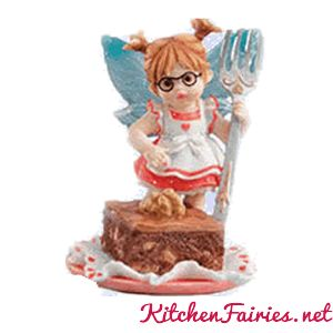 Brownie Fairie - From Series Fifteen of the My Little Kitchen Fairies collection