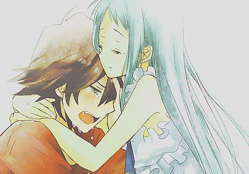 Images for anime boy and girl hugging in love anime - Anime boy hugging girl ...