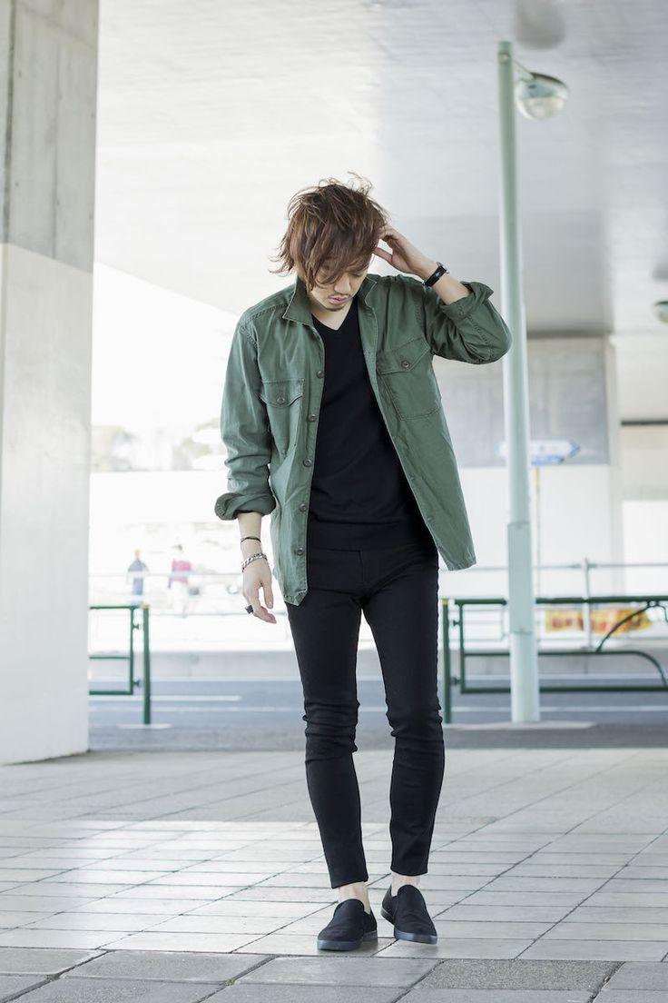▼使用アイテム BRAND:UNIQLO ITEM:ワークシャツ PRICE:2,990円 SIZE:XL http://www.uniqlo.com/jp/store/goods/183591-69