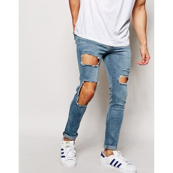 1000  ideas about Mens Skinny Ripped Jeans on Pinterest | Ripped