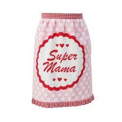 #Krasilnikoff Halbschürze #SUPER #MAMA #Muttertagsgeschenk