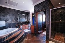 Lovely Country style bathroom in an exclusive estate property on MyRoof.co.za
