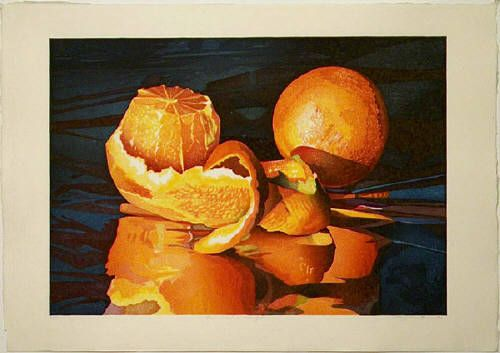 Artist: Mary Pratt, Title: Reflections of Oranges - click on image to enlarge. I love her work.