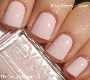 #essie romperroom natural nails basic basicnails chic classy cute short