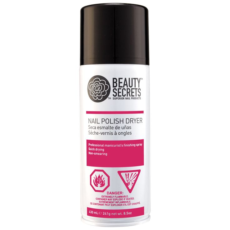 Beauty Secrets Nail Polish Dryer Spray is a professional nail technician's finishing spray. - HAVE never remember to use. Really haven't noticed a difference