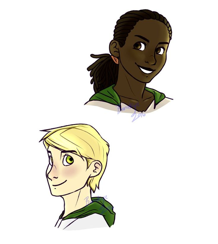 Conor and Abeke by Banskye.deviantart.com on @DeviantArt