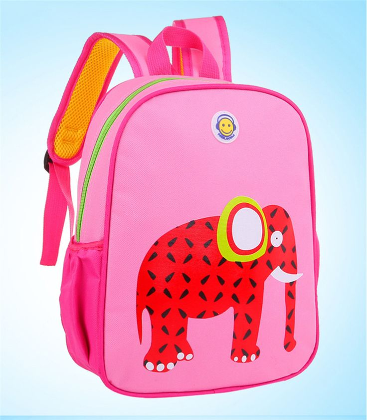 Children Fawn bags Cartoon schoolbag Nursery baby child small Elephant bag Kids Travel Backpack for age 1-4 zebra schoolbag