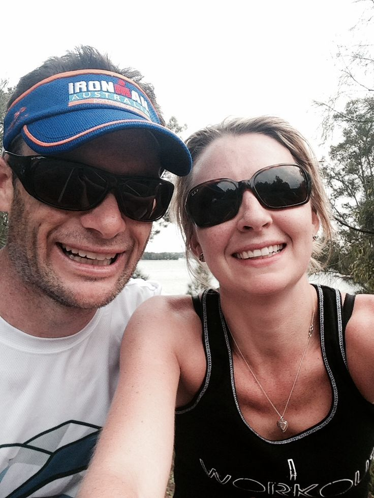 Did two laps of the Bay with hubby on Sunday which is another first for me!