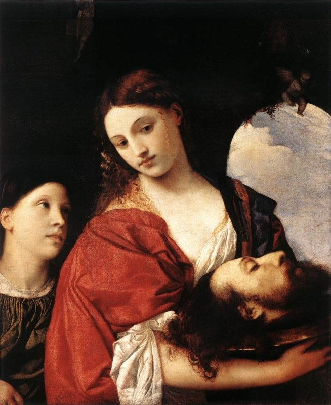 1576 Titian - Judith with the Head of Holofernes | Two ...