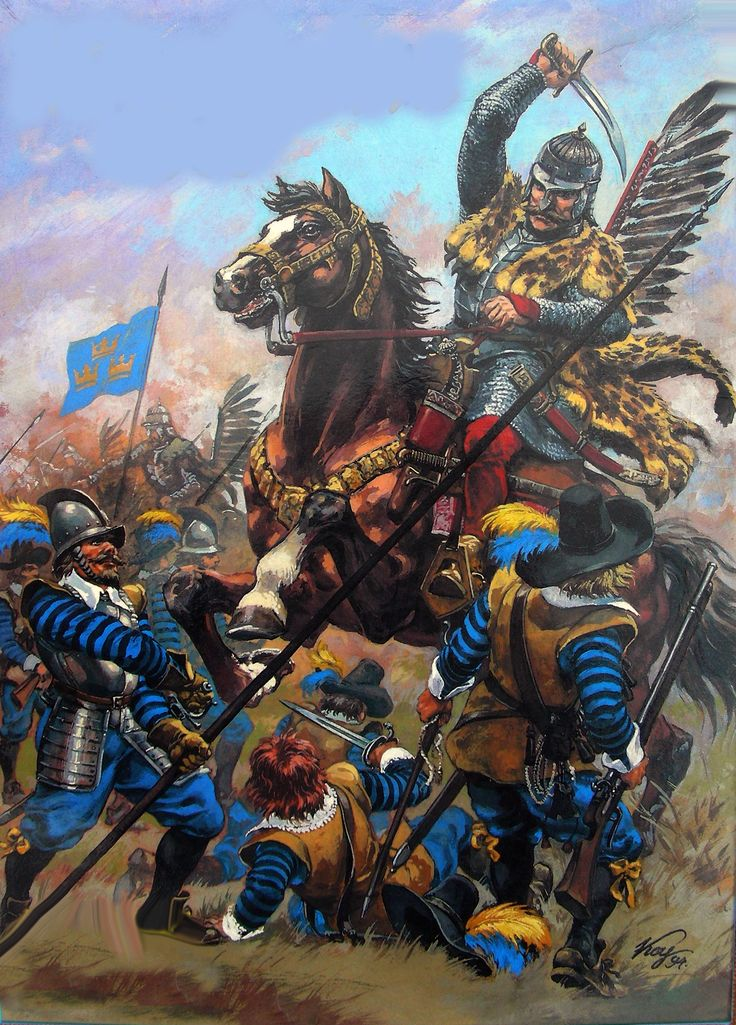 Battle of Kircholm between Poland and Sweden