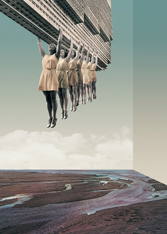 Julien Pacaud Unknown Destination Fractal Hunting Party Lake of Tears The Sims