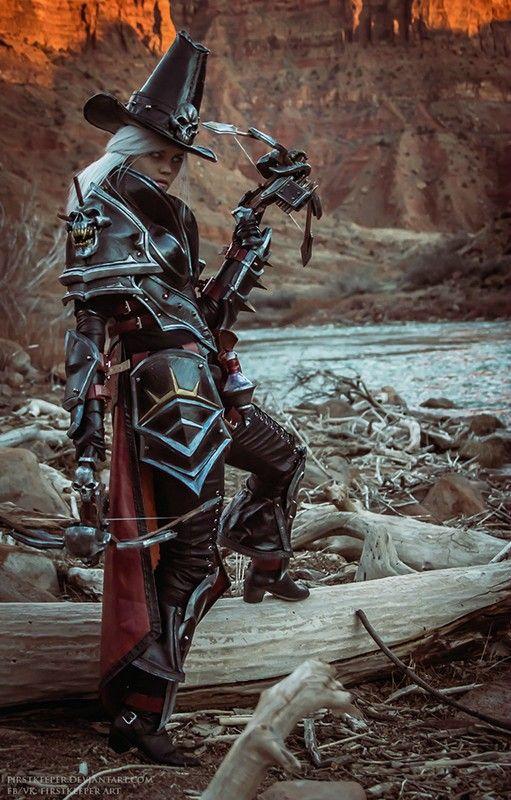 first_keeper: Косплей Валлы из игры Heroes of the Storm (3д печать)