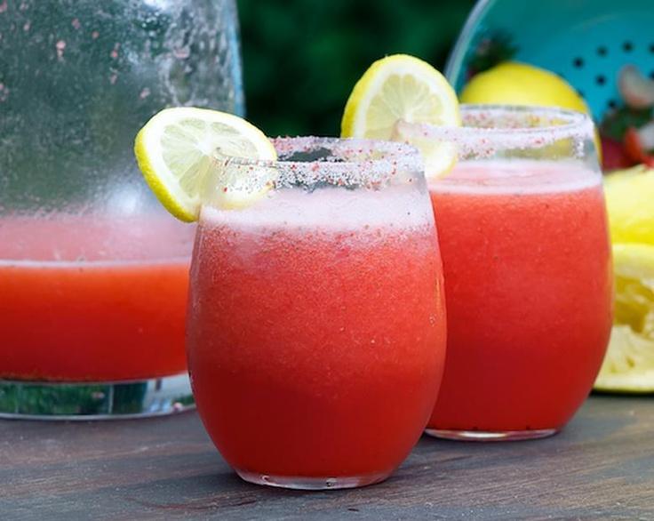 Strawberry Lemonade Colda Cooler, anyone??? lol - from Svedka vodka