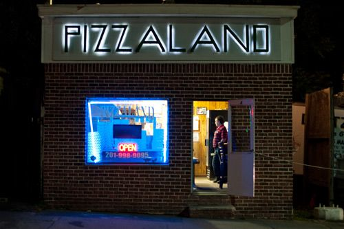 Pizzaland: The Pizza Place in the 'Sopranos' Opening Credits | Slice Pizza Blog    Sopranos Forever.... Bling Blinky of Texas