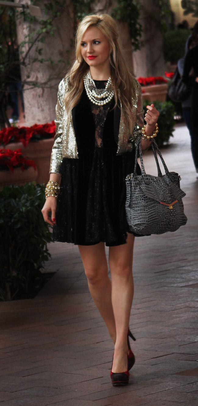 Dressed up style