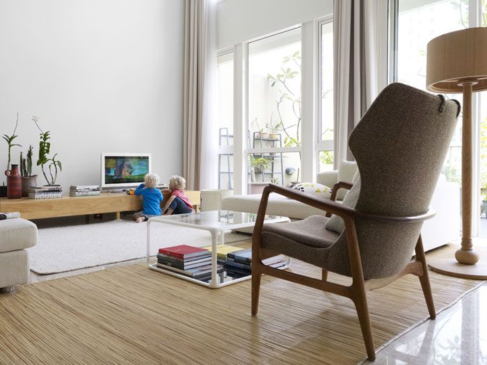 Kids Friendly, Clean And Airy Livingroom Part 66