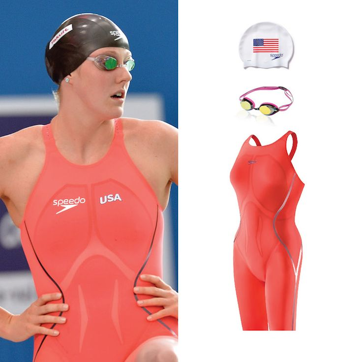 halloween costume inspired by swimmer missy franklin