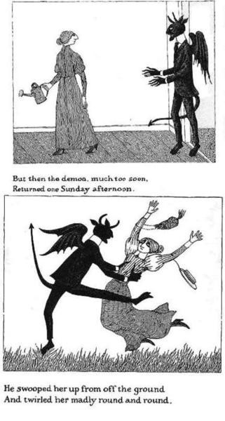 Gorey. I know that Demon. He came back today. And he brought some of his old friend Demons with him who I also know and I have danced with before.