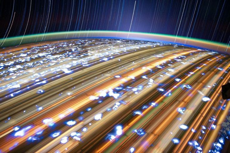 The International Space Station Experiments With Long Exposure Photography (12 Photos)