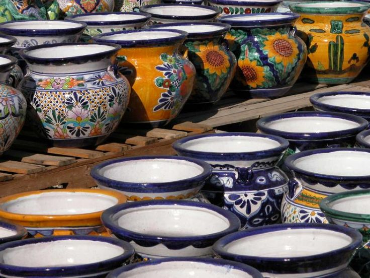 Browse our extensive line of hand-made Mexican pottery, vase & planters at everyday low prices, and get free shipping on most orders over $25! Description from travelbieber.com. I searched for this on bing.com/images