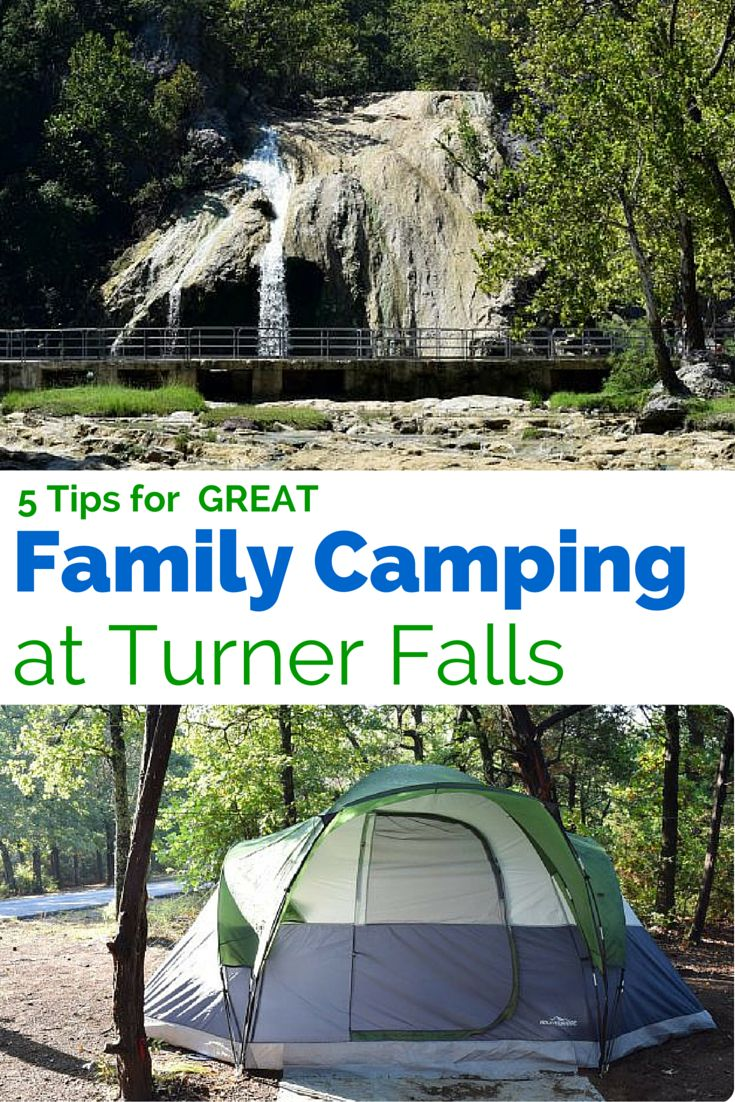 Get Back to Nature and have fun with the family at Turner Falls, Oklahoma - 5 Tips for Camping at Turner Falls, Oklahoma & having a GREAT time outdoors