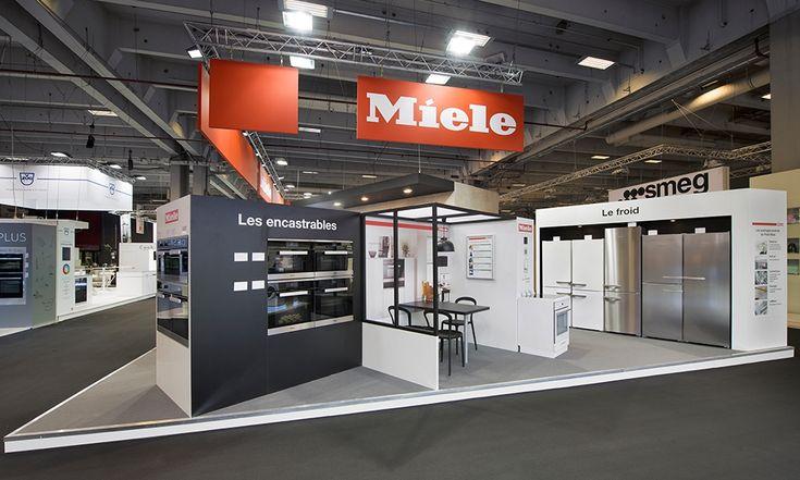 STAND MIELE - Paris Fair . 180m2
