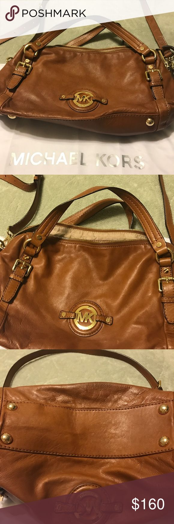 Michael Kors bag Beautiful soft leather brown crossbody handbag. No sign of wear basically new condition. Bags Crossbody Bags