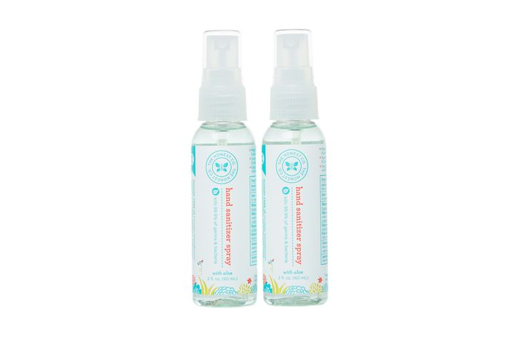 Honest Hand Sanitizer Spray #ecofriendly #nontoxic #portable....My daughters love to use this spray.