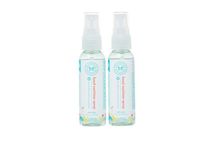Honest Hand Sanitizer Spray #ecofriendly #nontoxic #portable