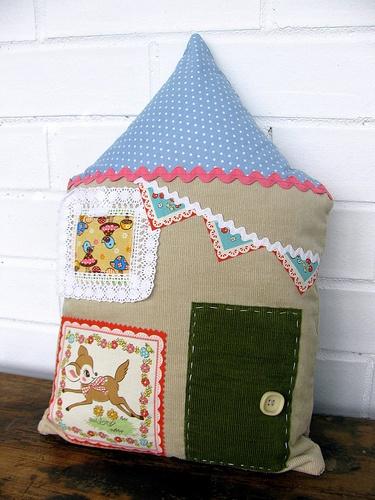 handmade cushion by Ivy Designs Australia