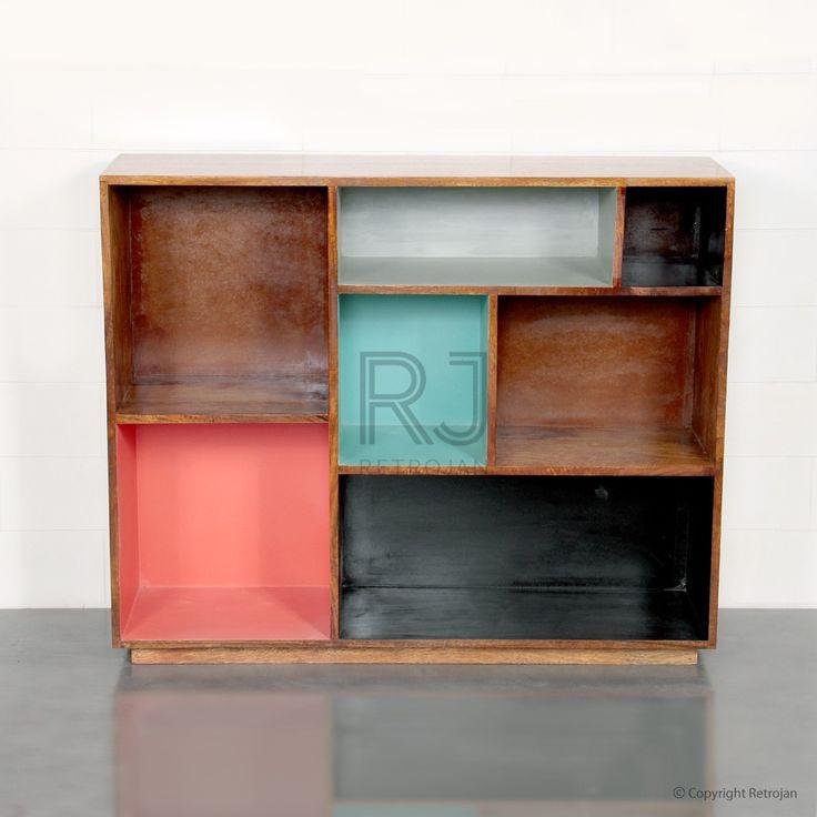 Preston Bookshelves - Candy