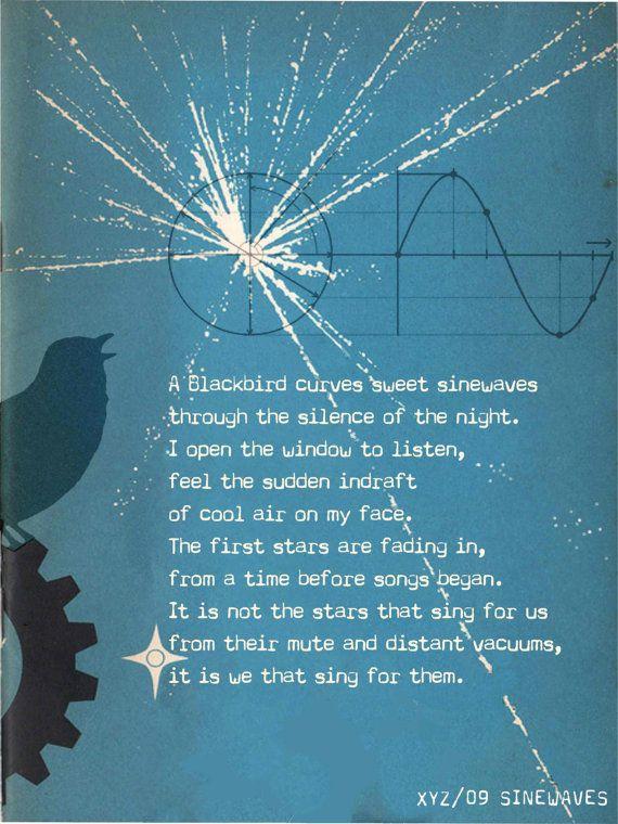 SINEWAVES Giclée Print. by QuantumPress on Etsy | Math Art | Pinterest