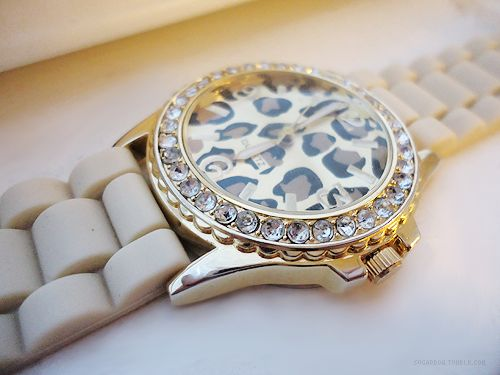 love: Diamonds Watches, Watches Michael Kors, Jewelry, Animal Prints, Leopards Prints, Accessories, Cute Watches, Cool Stuff, Cheetahs Prints