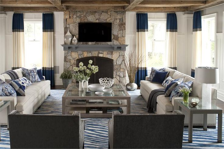 Living Room layout and colors for the beach house