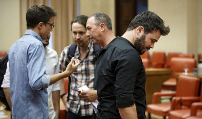 Unidos Podemos y los nacionalistas plantan hoy a la Constitución en su 38º aniversario