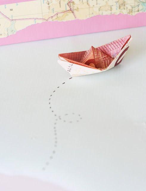Diy Geldgeschenk Geldscheine Als Origami Schiffe Geschenke