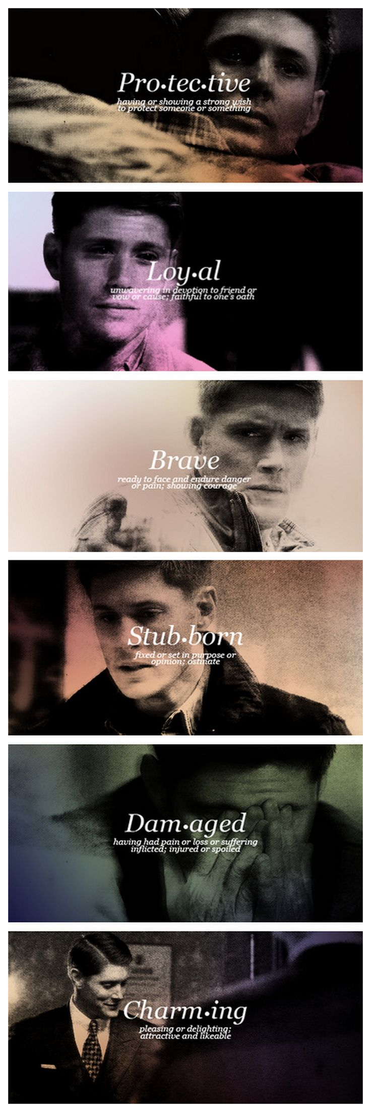 Happy Birthday to our protective, loyal, brave, stubborn, damaged, charming goofball, DEAN WINCHESTER! <3 #Supernatural