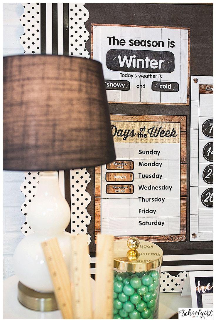 Classroom Decorating Fixer Upper Style ~ Best classroom wall decor ideas on pinterest english