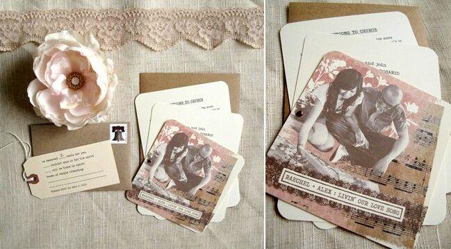 wedding invitations for music theme | music themed wedding, Wedding invitations