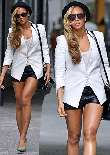 BEYONCE http://www.couturecandy.com/celebs/bey-and-jay-zs-nyc-date-night-sighting.html