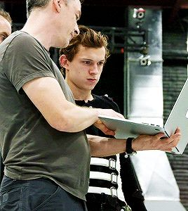 nice man. solid dude. — Tom Holland behind the scenes of Spider-Man:...