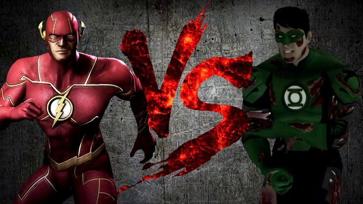 Флэш VS Зелёный Фонарь [CT Fight Club 3.0]