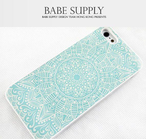 Pastel Blue Mandala iPhone 5c