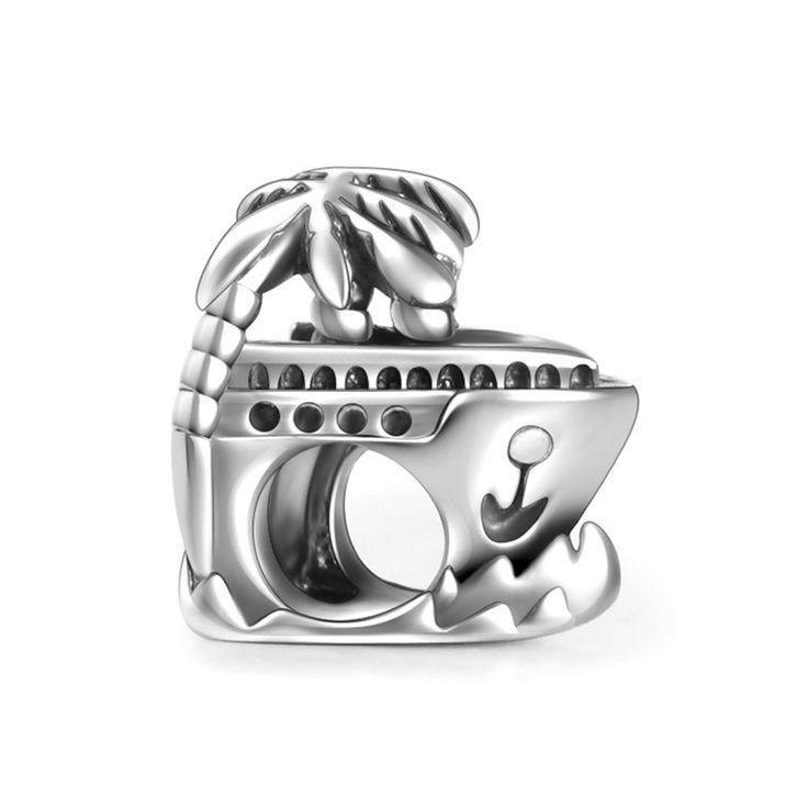 Have A Trip Boat Charm 925 Sterling Silver