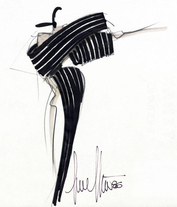 Fondazione Gianfranco Ferré / Collections / Woman / Couture / 1986 / Fall / Winter