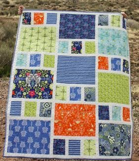 Craftsman Quilt Pattern Download available at connectingthreads.com