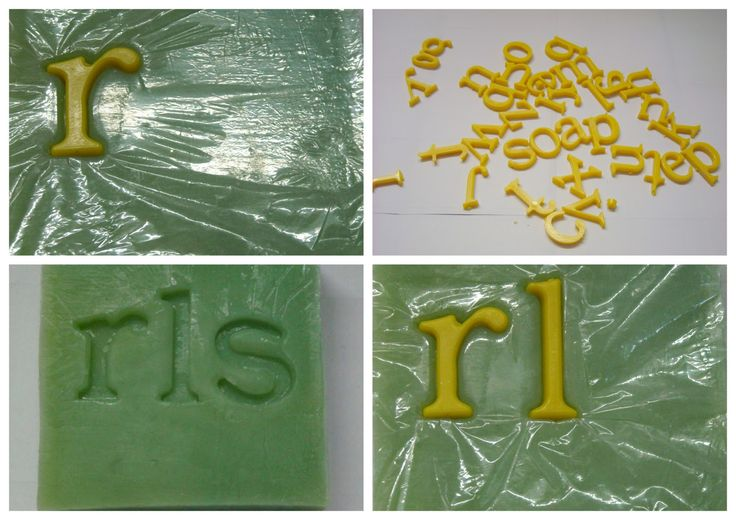 Riverlea Soap: How to make Soap stamps