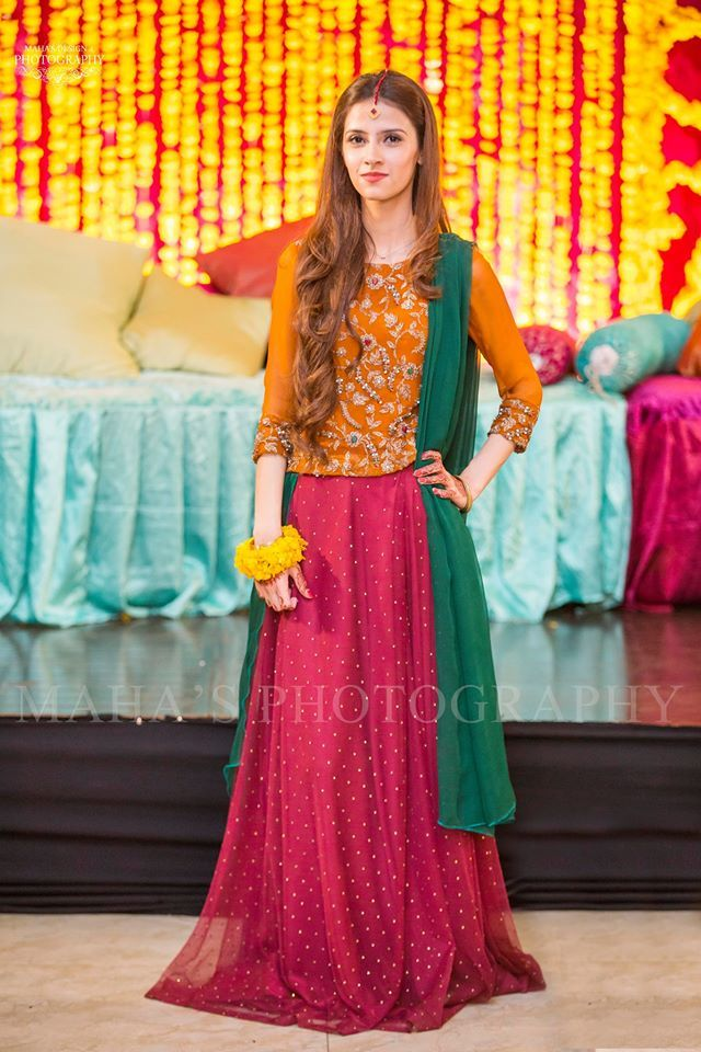 Latest Pakistani Dresses And Frocks 2016 For Wedding Parties